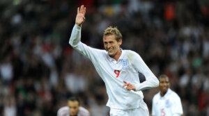 Футболист сборной Англии Питер Крауч