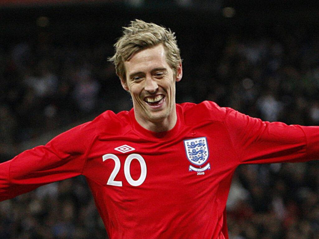 Питер Крауч в сборной Англии