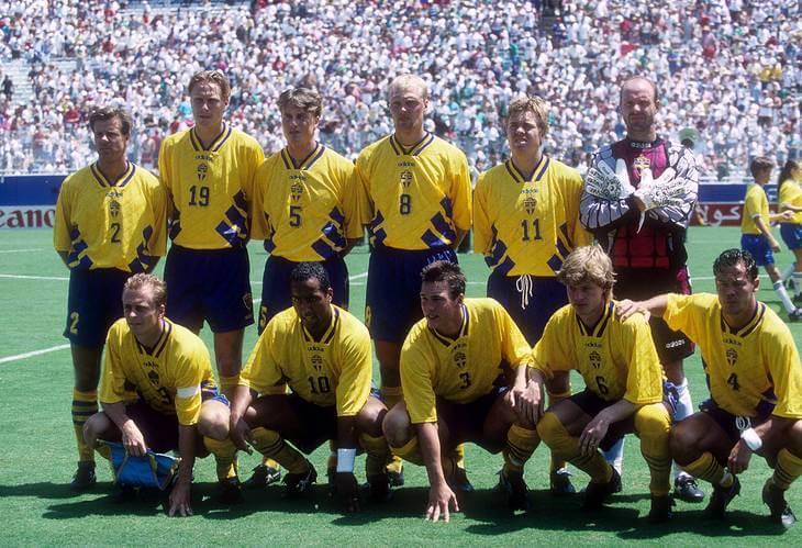 Сборная Швеции - 1994