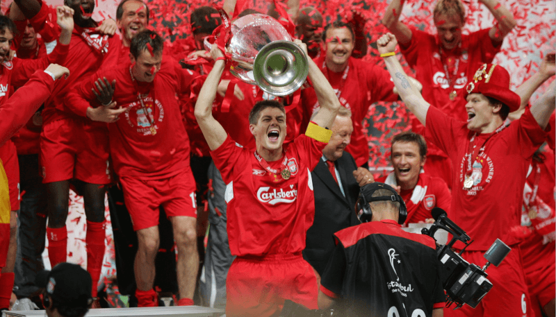 """""""Ливерпуль"""" - победитель Лиги чемпионов-2005"""