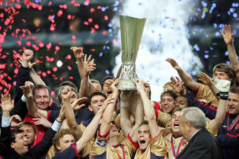 ЦСКА - обладатель Кубка УЕФА-2005