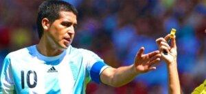 Футболист Хуан Роман Рикельме