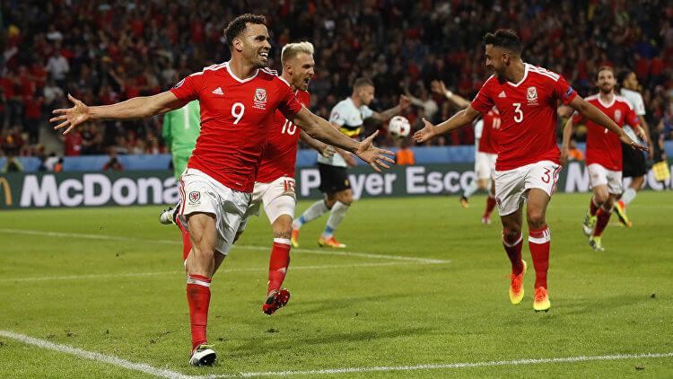 Евро-2016: Уэльс - Бельгия