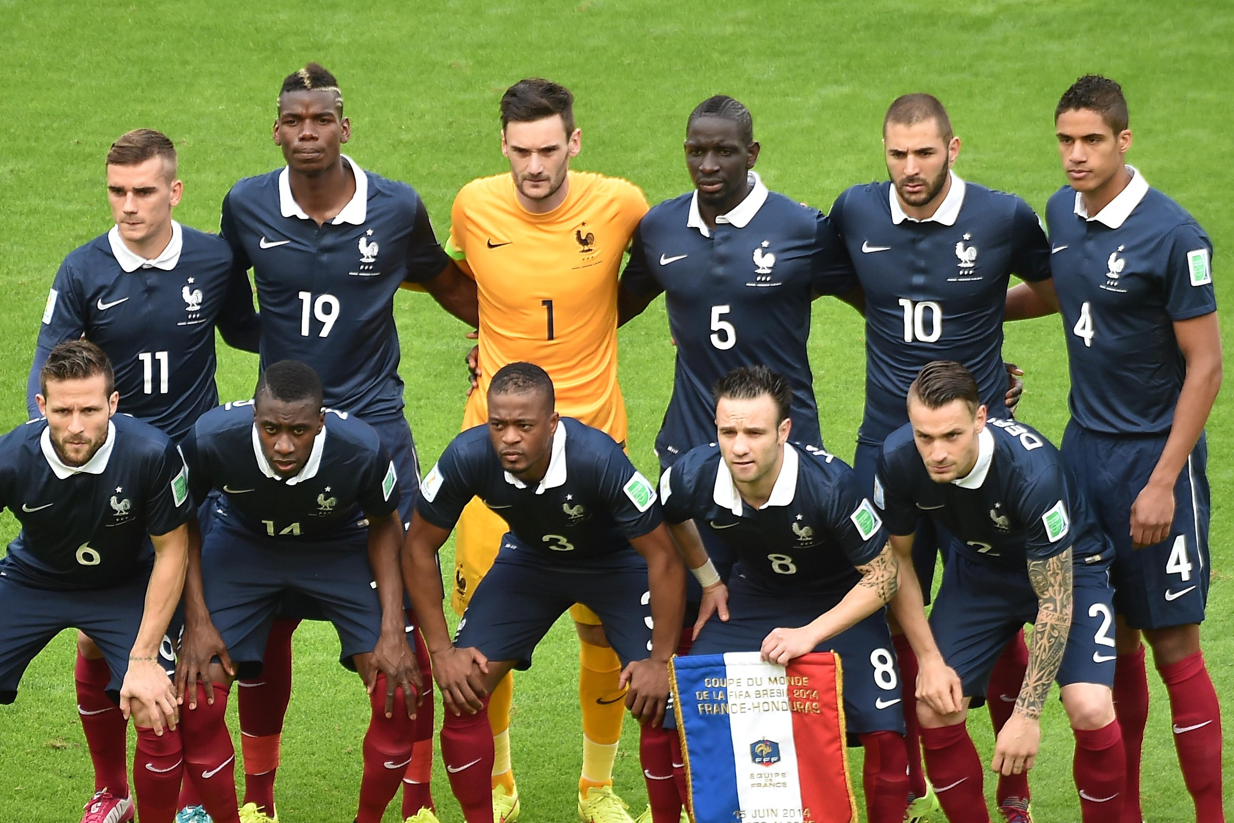 Сборная Франции по футболу - 2015