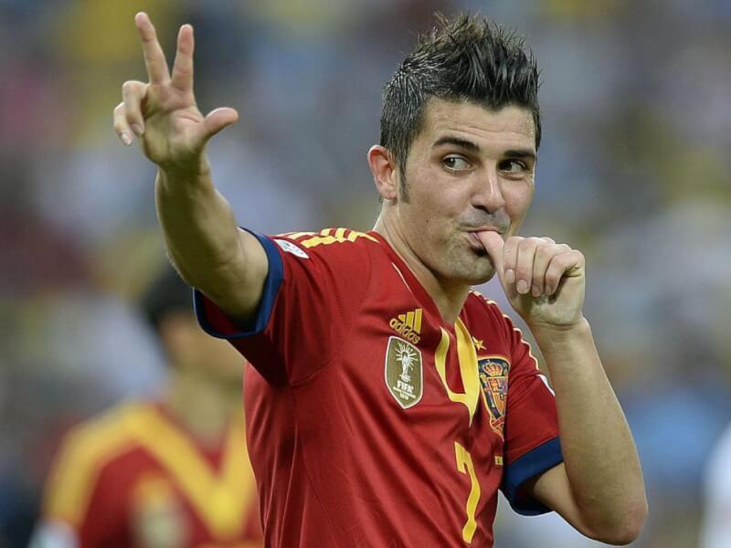 Великие футболисты сборной испании