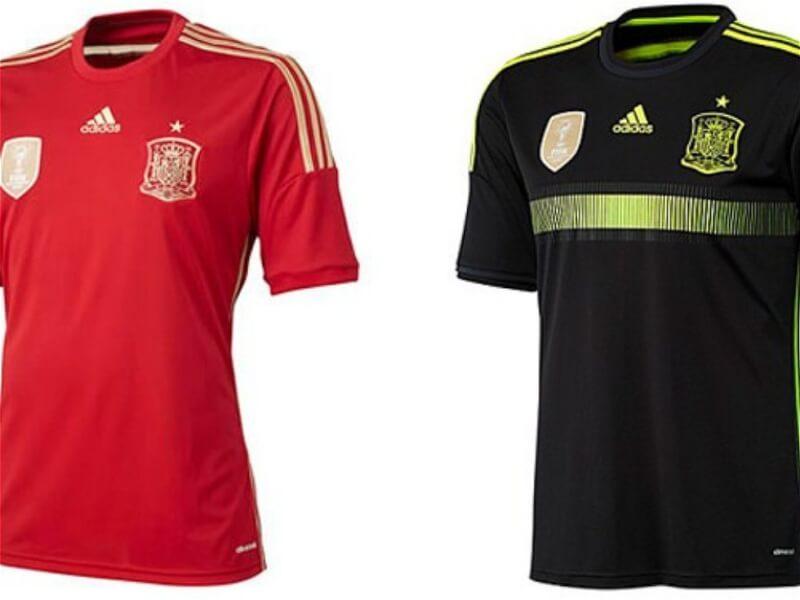 Форма сборной Испании по футболу