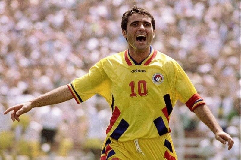 Георги Хаджи - главная звезда сборной Румынии
