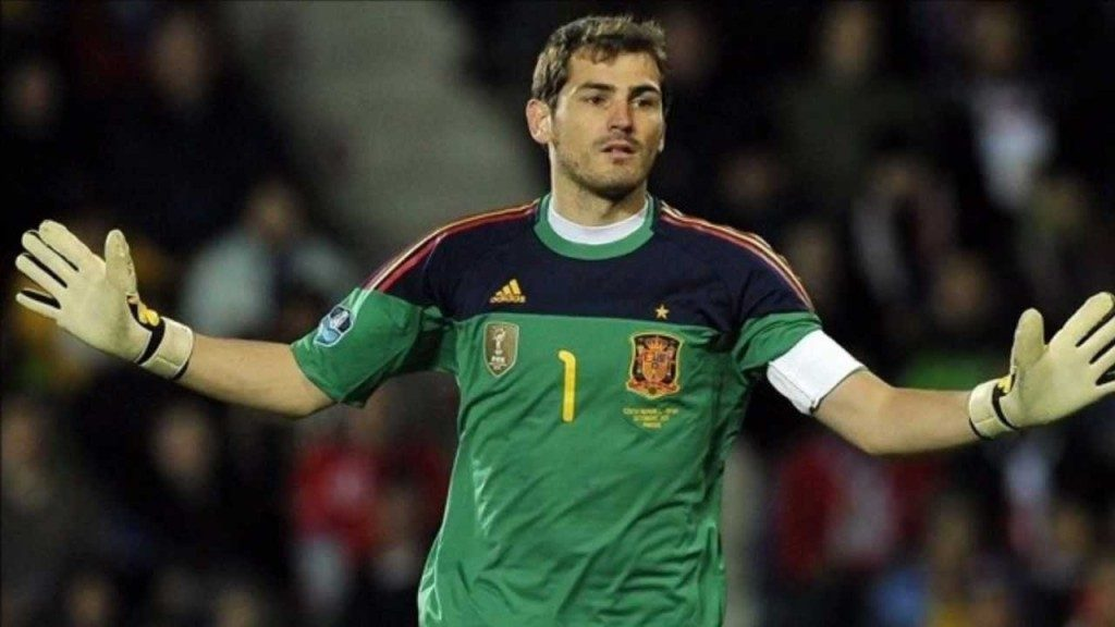 Икер Касильяс - рекордсмен сборной Испании