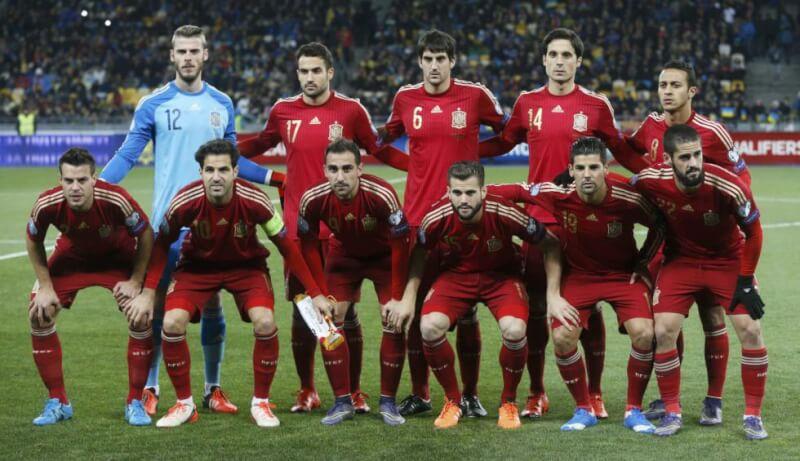 Сборная Испании - 2015