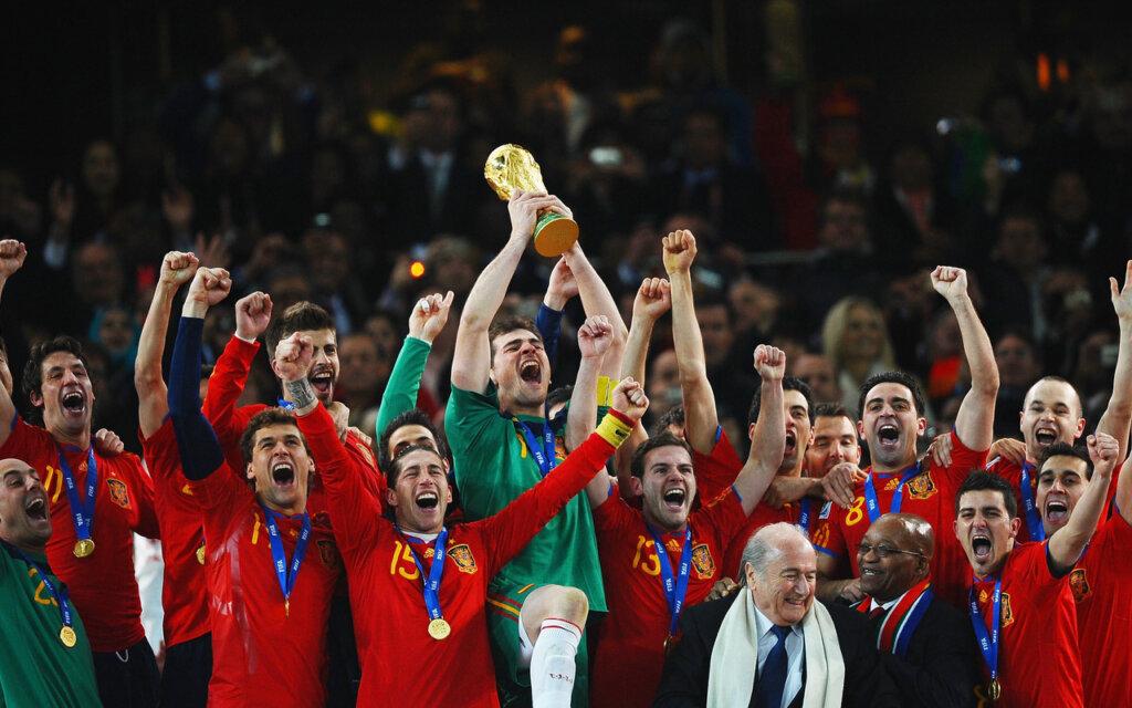 Сборная Испании - чемпион мира - 2010