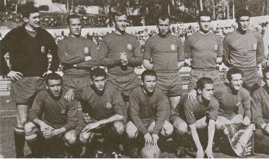 Сборная Испании - чемпион Европы 1964