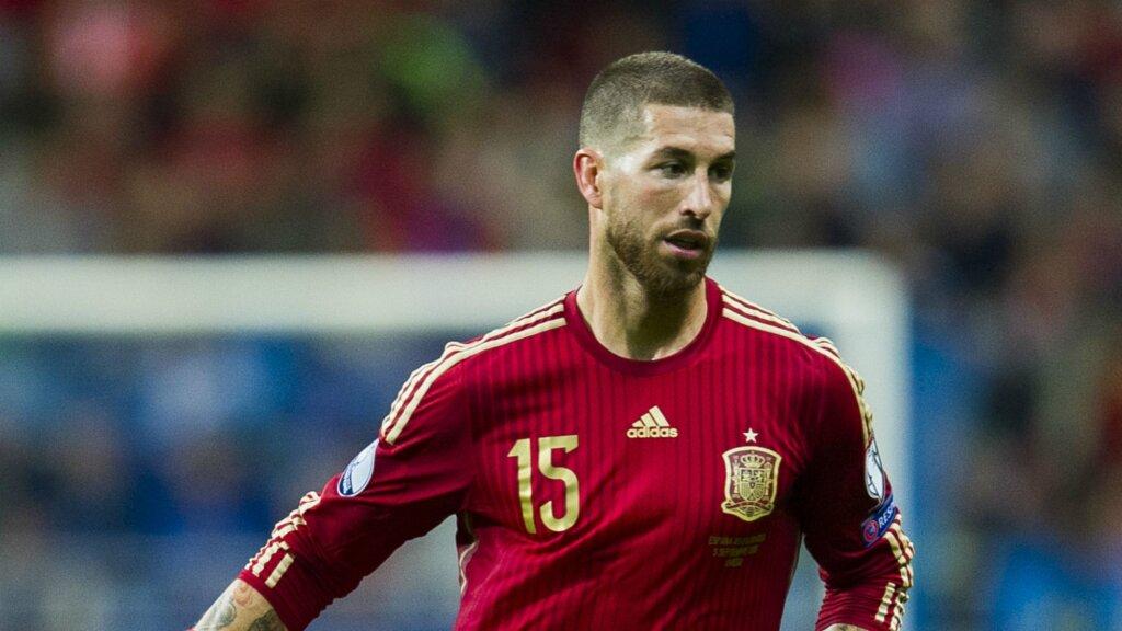 Серхио Рамос - капитан сборной Испании