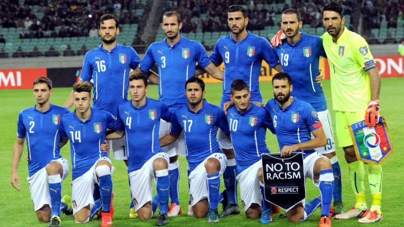 Сборная Италии-2015