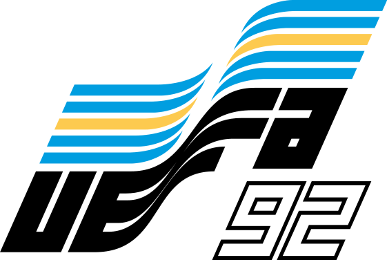 Логотип чемпионата Европы 1992 года