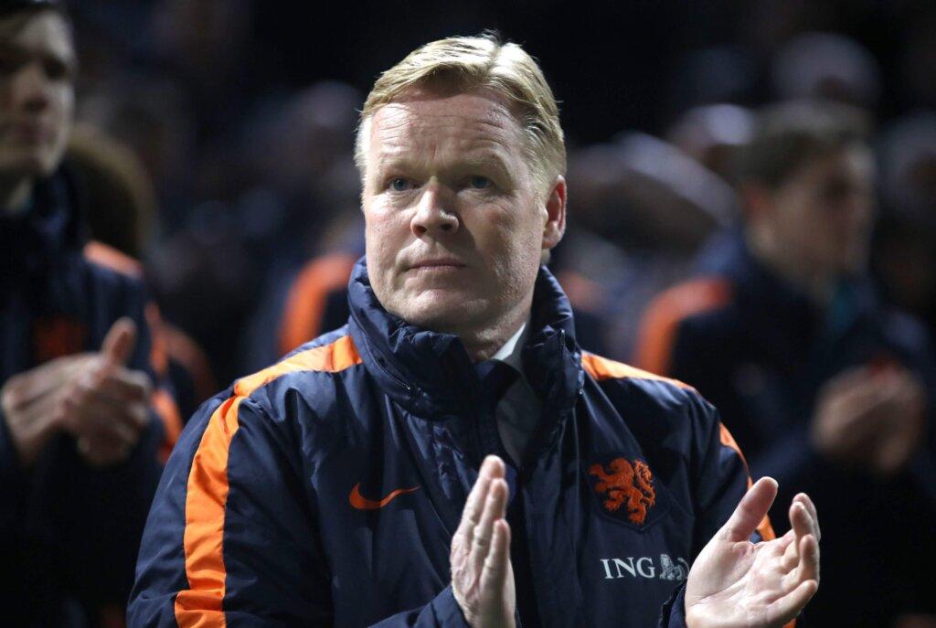 Рональд Куман - тренер сборной Голландии