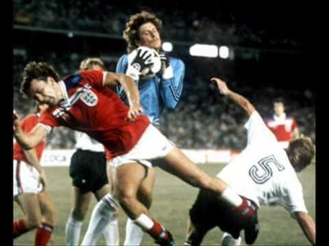 Англия - ФРГ: 1982 год