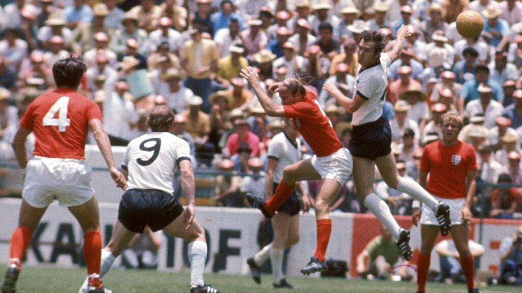 Англия - ФРГ на ЧМ-1970