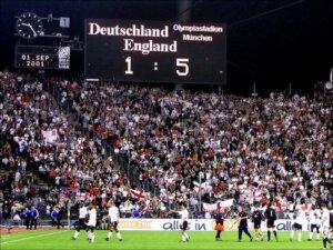 Англия - Германия 1:5