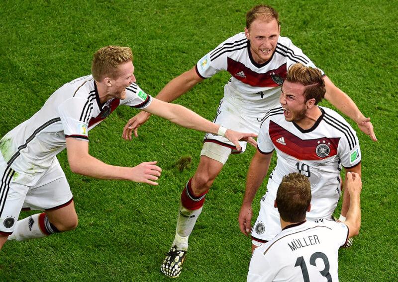 Сборная Германии: лучшие матчи