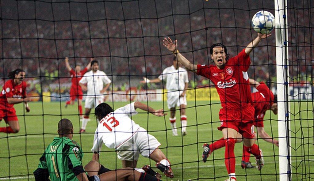 """Матч """"Ливерпуль"""" - """"Милан"""": 2005 года"""