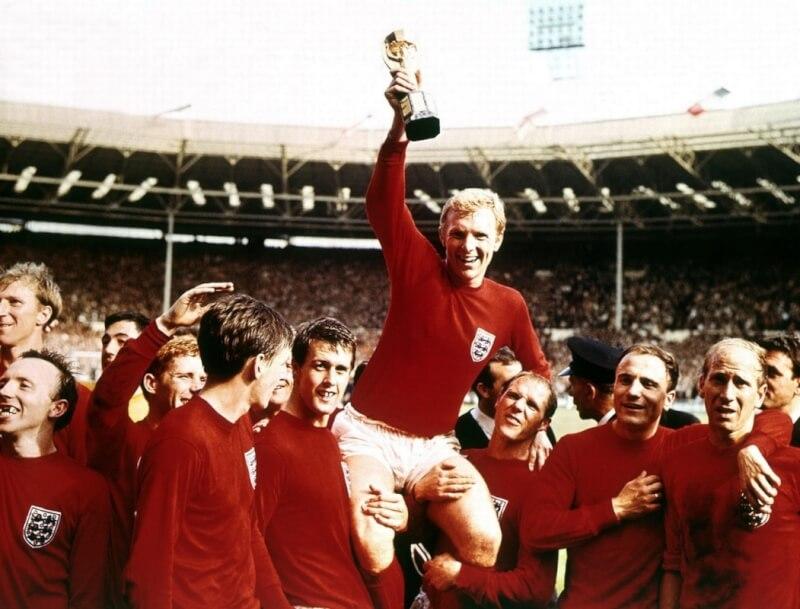 Был чемпионм мира по футболу англия