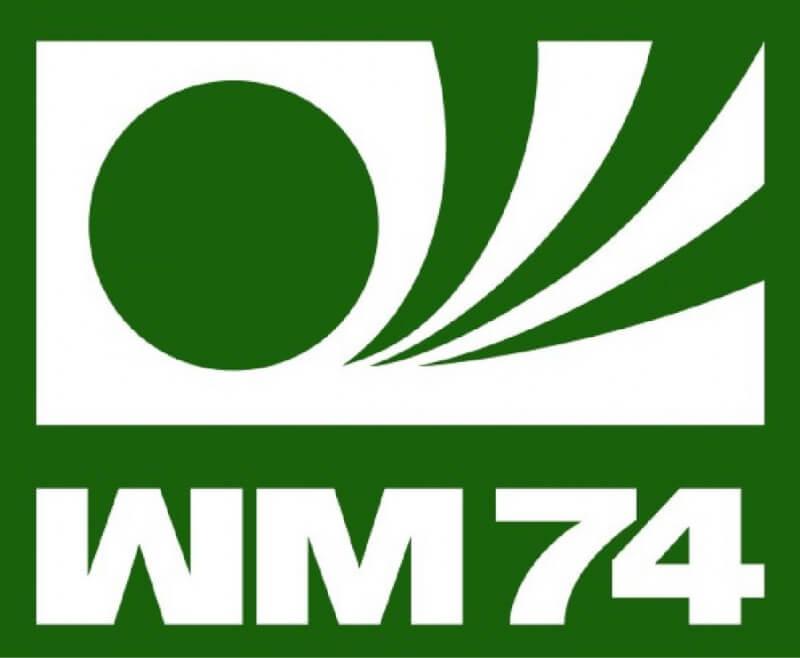 Логотип чемпионата мира 1974 года