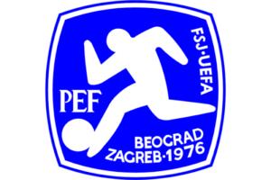Логотип чемпионата Европы 1976 года