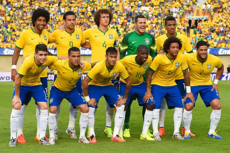 Сборная Бразилии по футболу - 2014