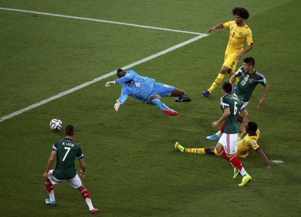 ЧМ-2014: Мексика - Камерун