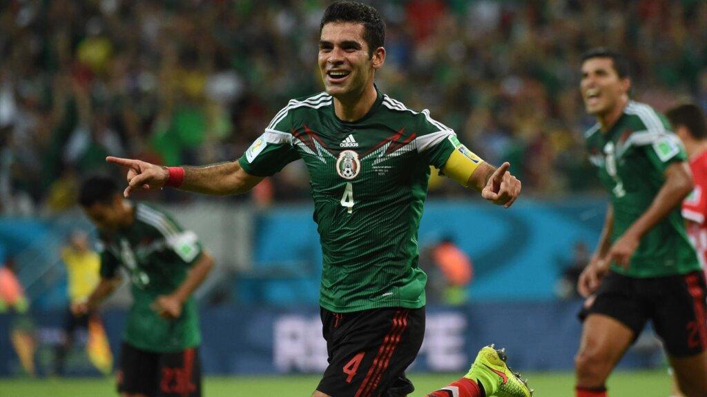 Рафаэль Маркес - капитан сборной Мексики