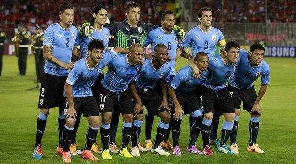 Сборная Уругвая по футболу-2016