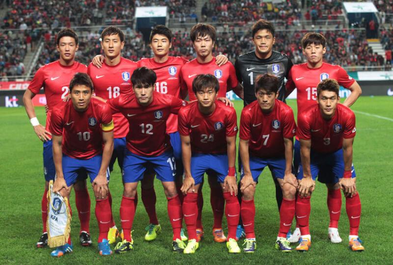 Сборная Южной Кореи по футболу - 2014