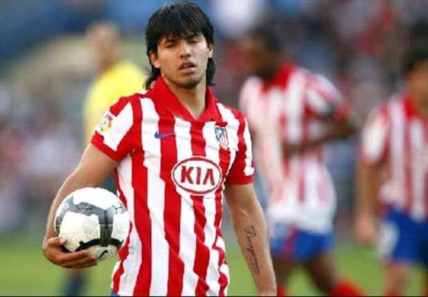 Серхио Агуэро в молодости