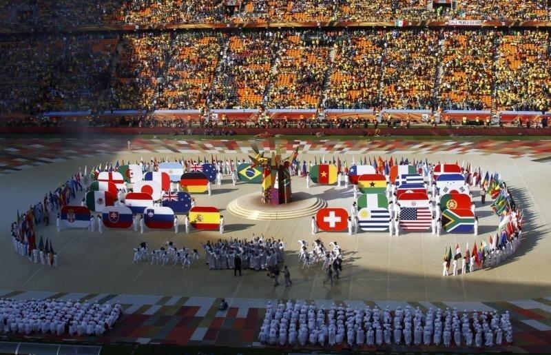Чемпионат мира-2010: церемония открытия