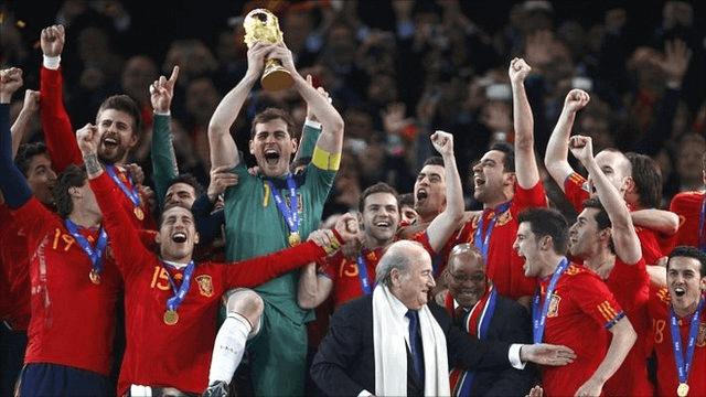 Чемпионат мира по футболу в испании 2010