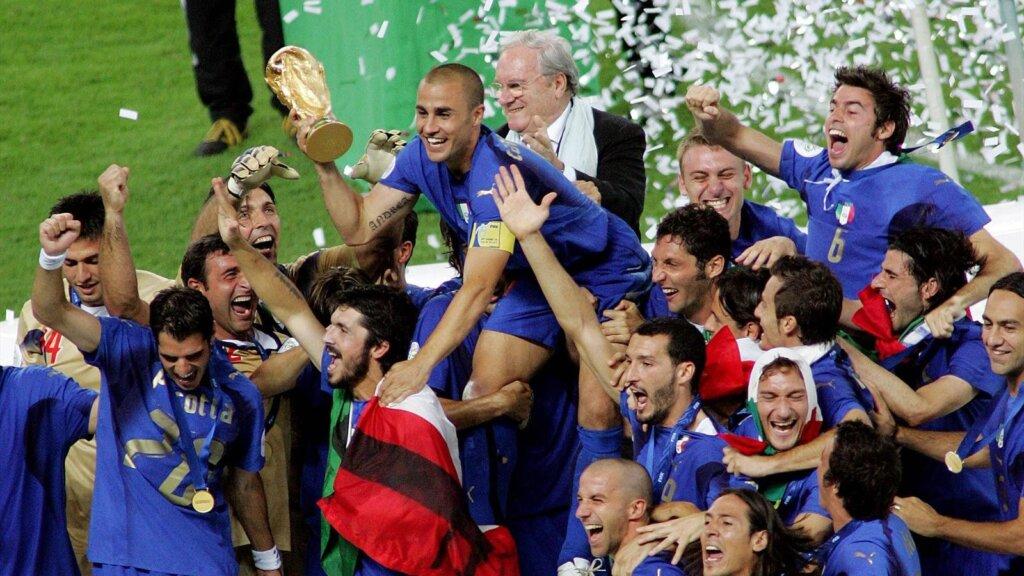 Италия - чемпион мира 2006 года