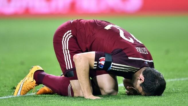 Позорные поражения сборной России