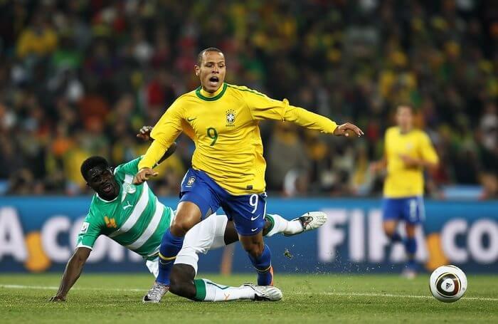 Сборная Бразилии - сборная Кот д