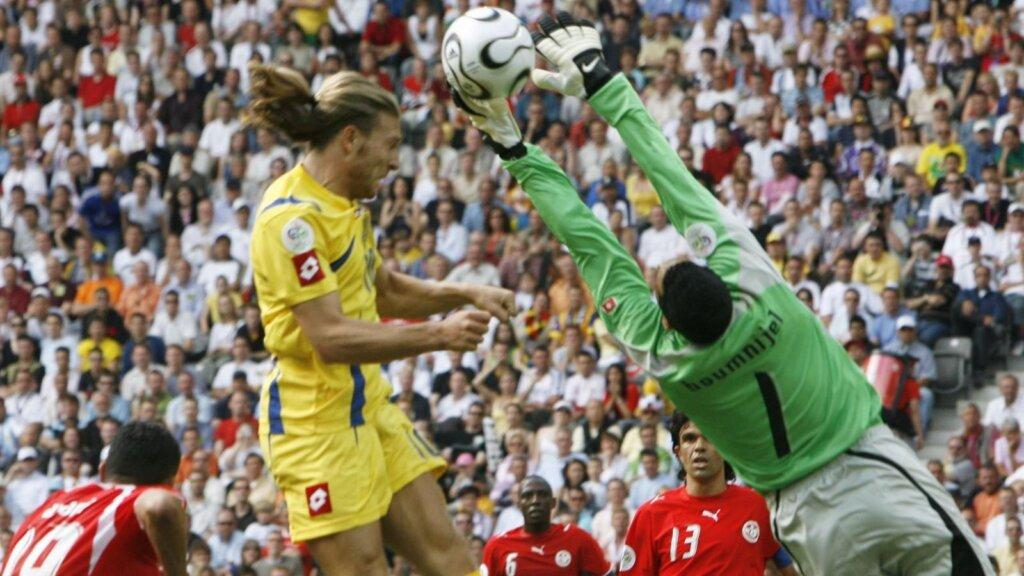 Украина - Тунис: 2006 год