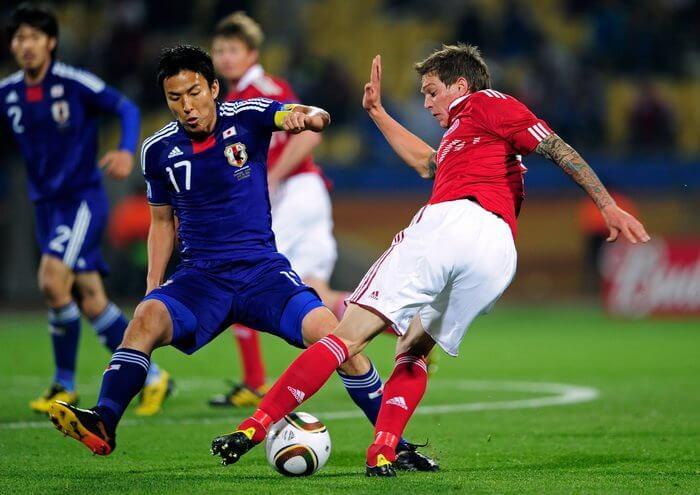 Япония - Дания: матч