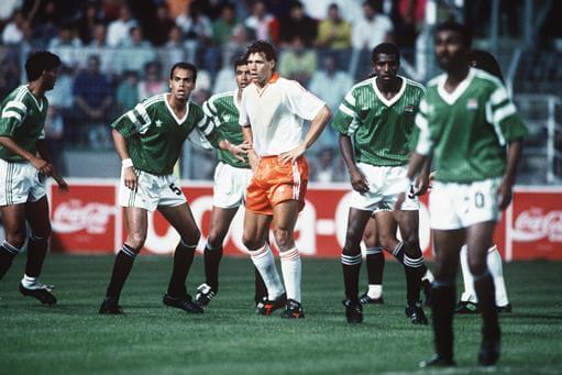 ЧМ-1990: Голландия - Египет