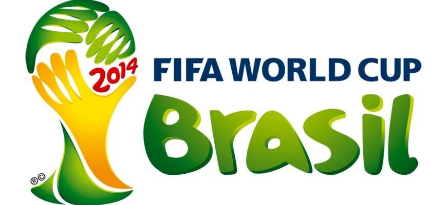 Логотип чемпионата мира по футболу 2014 года