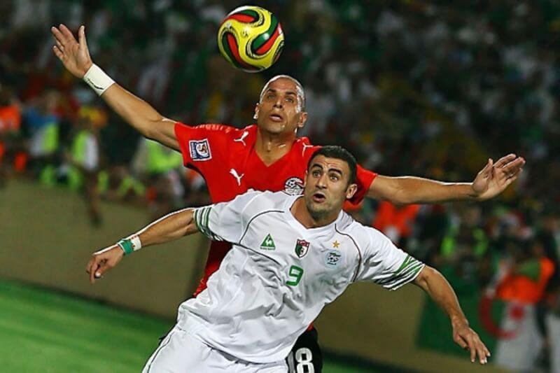 Матч сборных Египта и Алжира