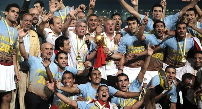 Сборная Египта - чемпион Африки-2010