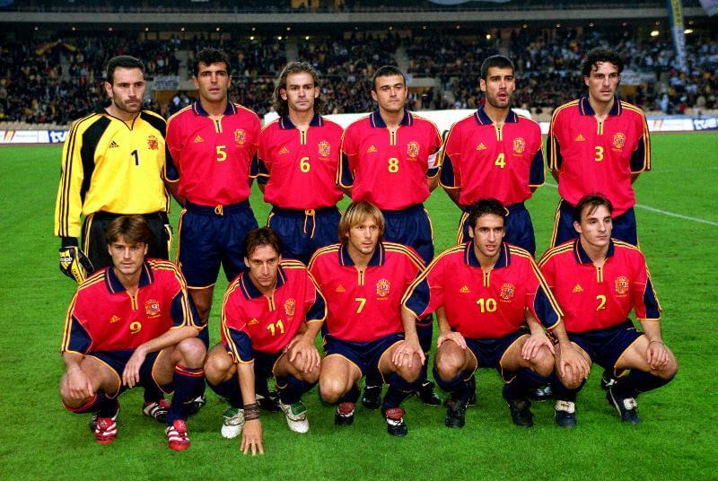 Евро-1996: сборная Испании