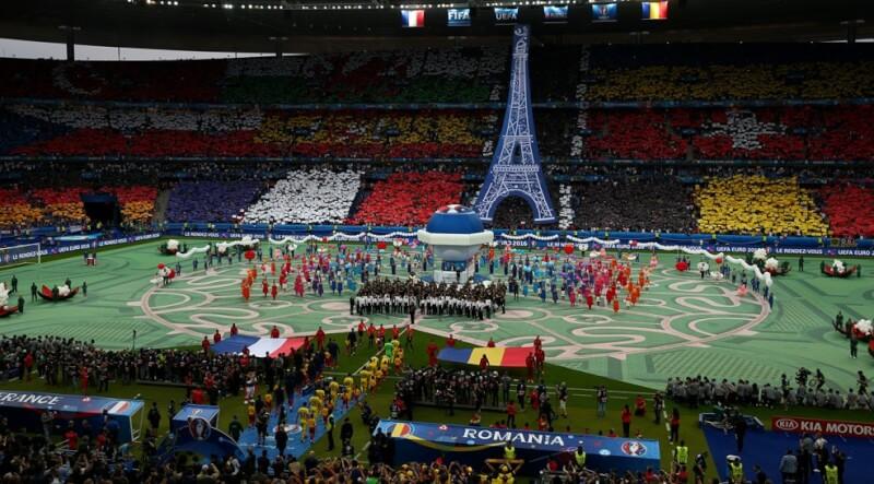 Евро-2016: церемония открытия