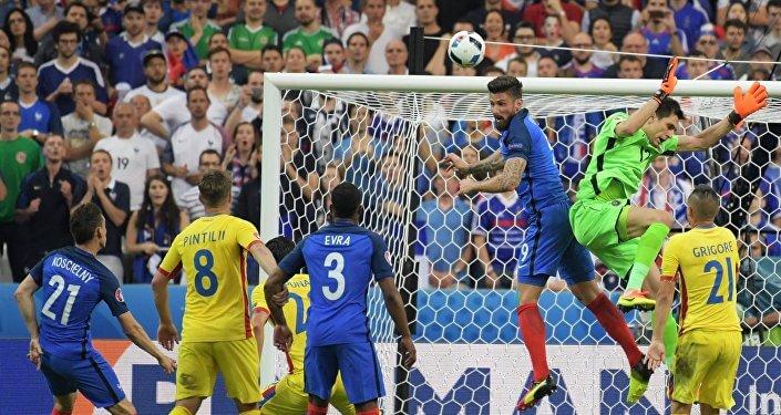 Франция - Румыния: матч открытия