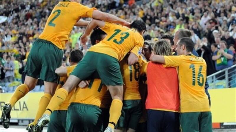 Гол сборной Австралии
