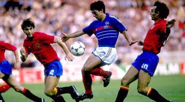 Испания - Франция на Евро-1984