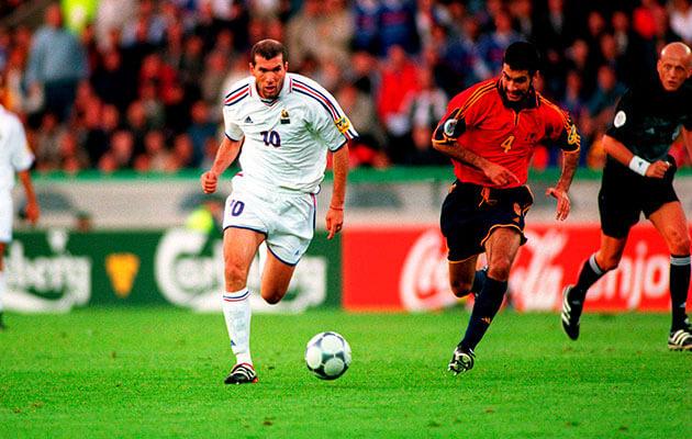 Испания - Франция на Евро-2000